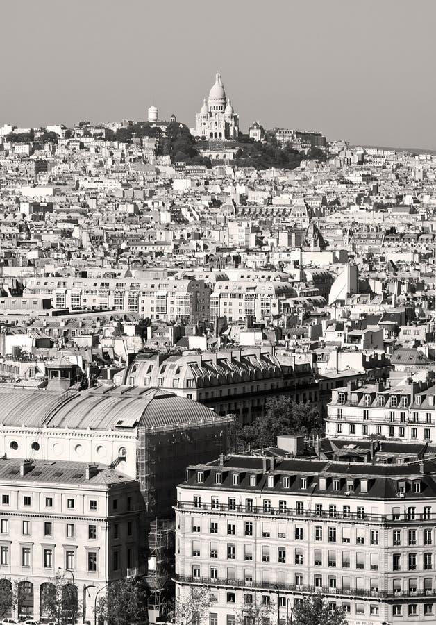 Montmartre Paris arkivbild