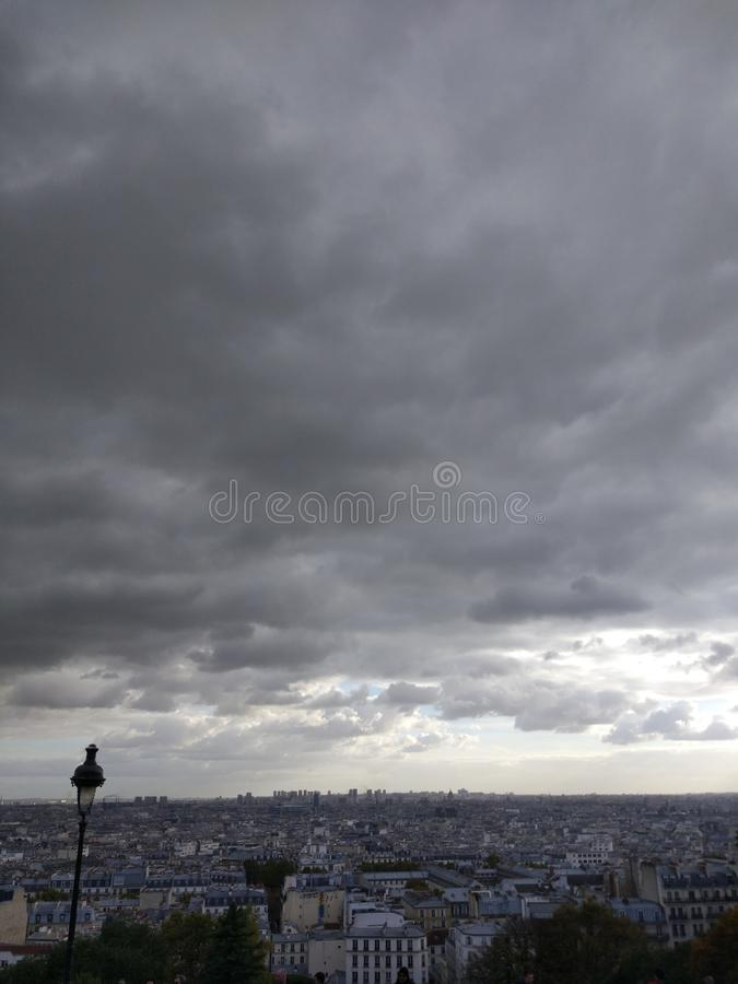 Montmartre Paris royalty free stock images