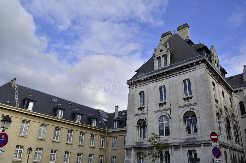 Montmatre Paris France. Facade details. stock photos