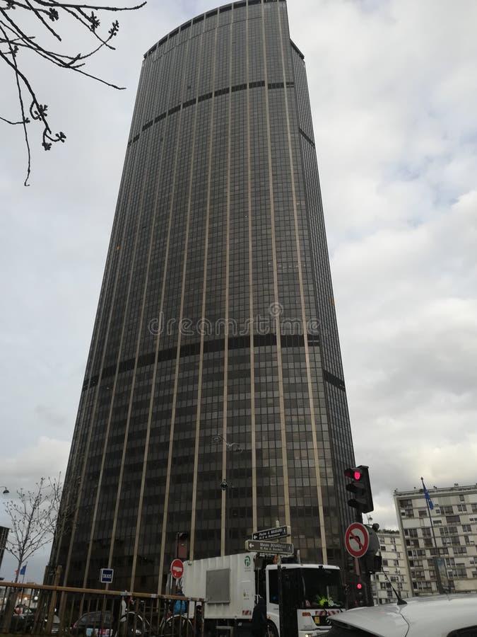 Montparnasse塔 库存图片