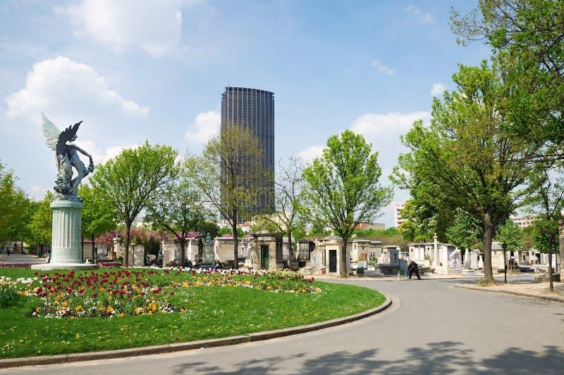 Montparnasse墓地 免版税库存图片