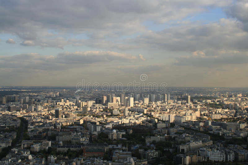 Download Montparnasse view stock photo. Image of aerial, above - 7377242