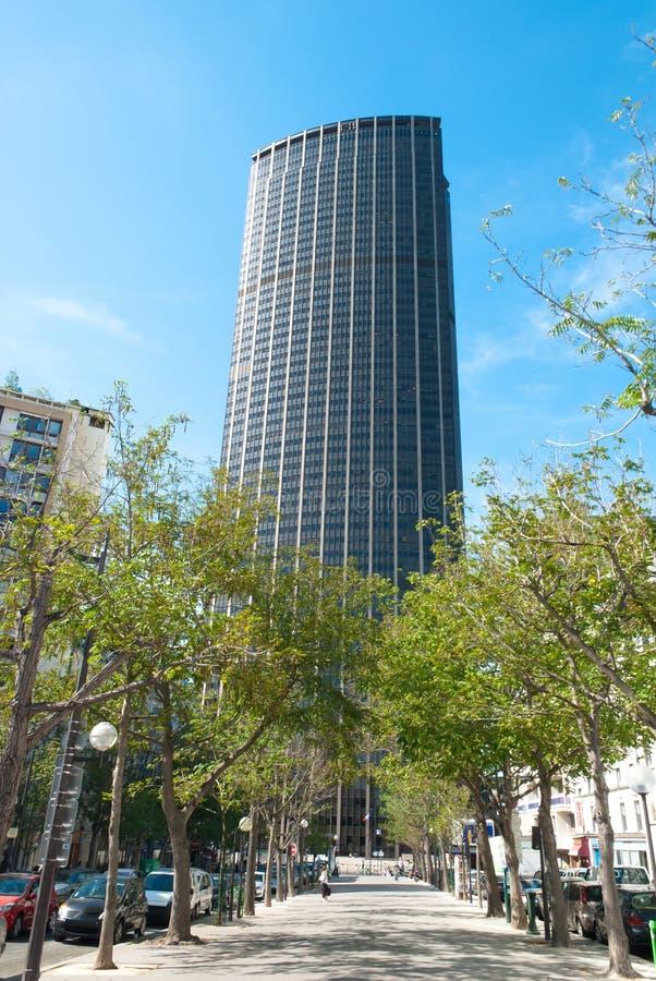 Montparnassetoren royalty-vrije stock foto