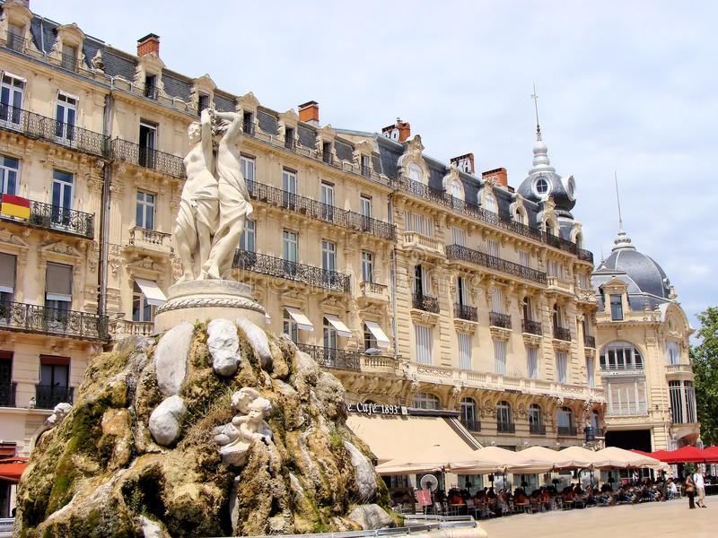 Montpellier royalty free stock images