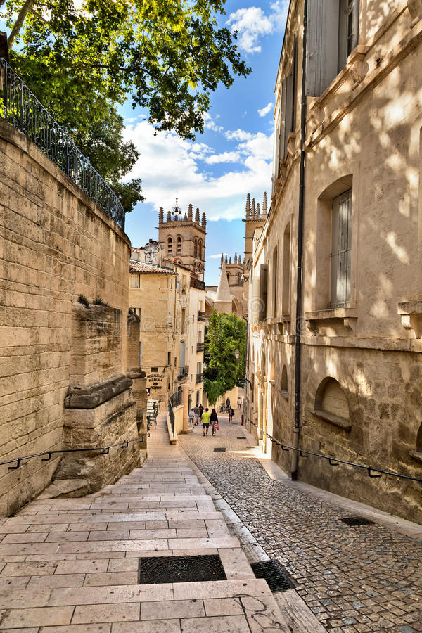 Montpellier, Francia fotografia stock libera da diritti