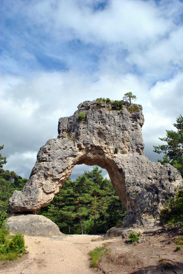 Free Montpellier Le Vieux Rocks Royalty Free Stock Images - 43077769