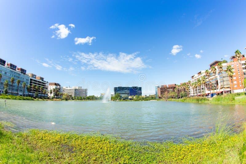 Montpellier stadshus arkivbilder