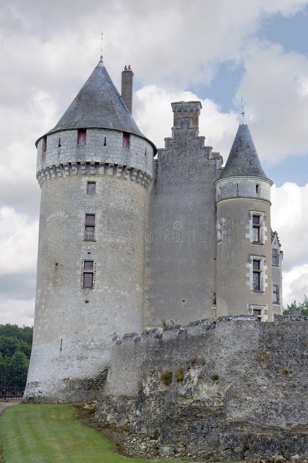 montpoupon de Франции замка стоковые фотографии rf