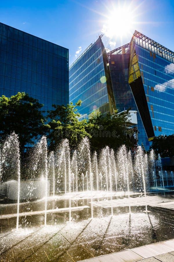 Montréal im Stadtzentrum gelegen, Quebec-Provinz, Kanada lizenzfreie stockbilder