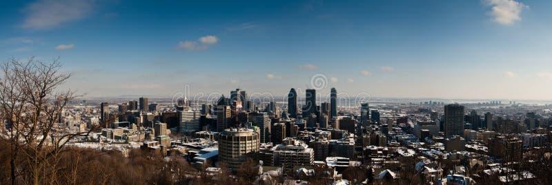 Montréal en hiver photographie stock libre de droits