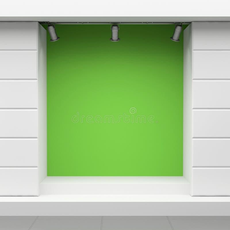 Montra verde ilustração royalty free