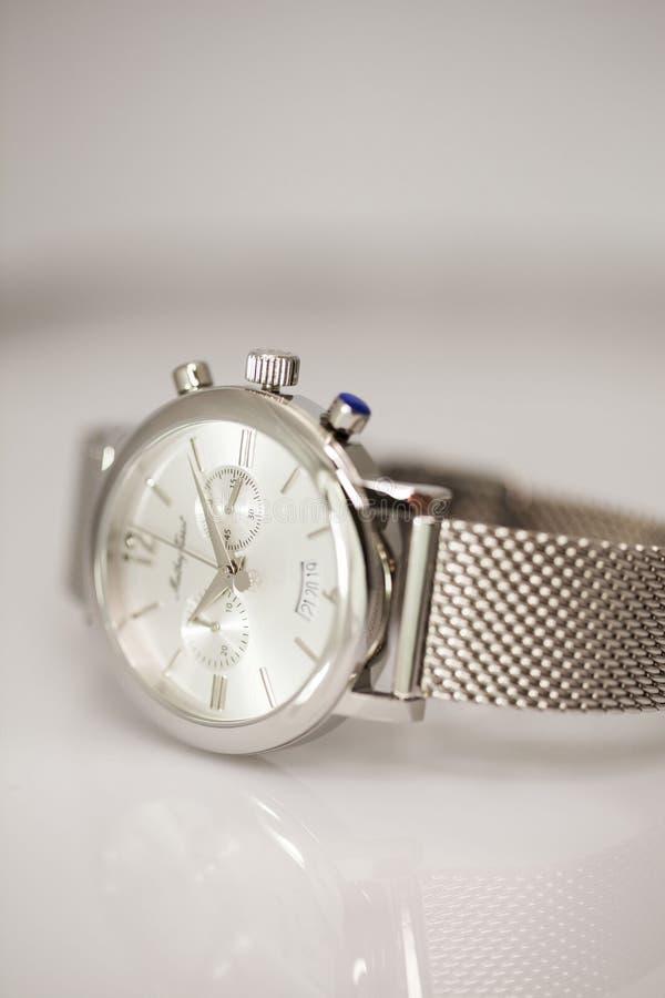 Montre-bracelet élégante photographie stock