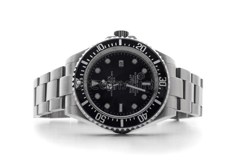 Montre-bracelet de ROLEX images stock
