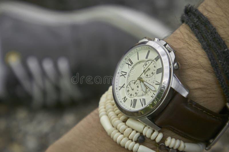 Montre-bracelet de vintage image stock