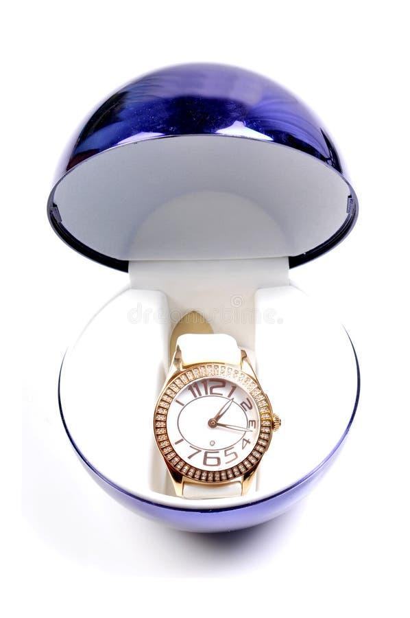 Montre-bracelet luxueuse image stock