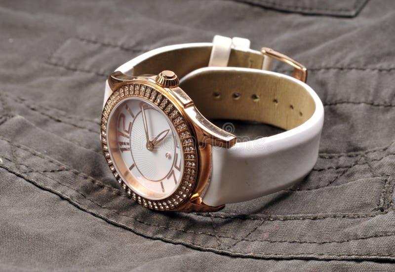 Montre-bracelet luxueuse images libres de droits