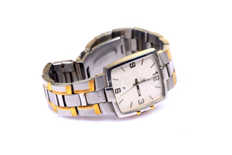 Montre-bracelet mâle images libres de droits