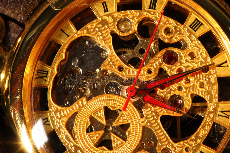 montre de poche antique images libres de droits