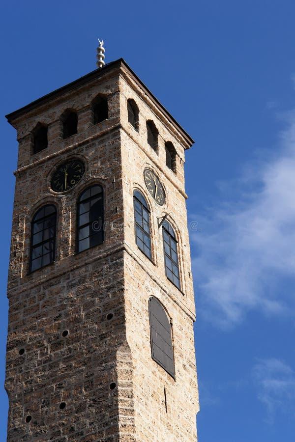 montre de tour de Sarajevo de groupe photos libres de droits