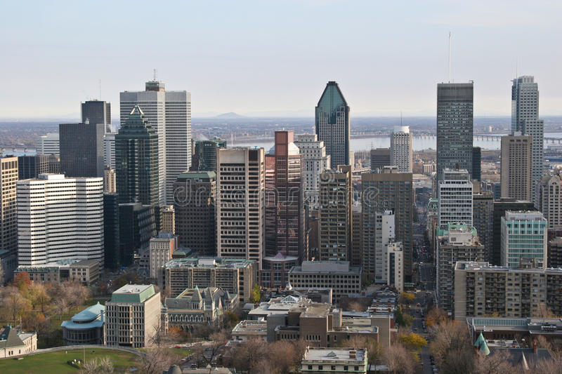 Montreal stock photography