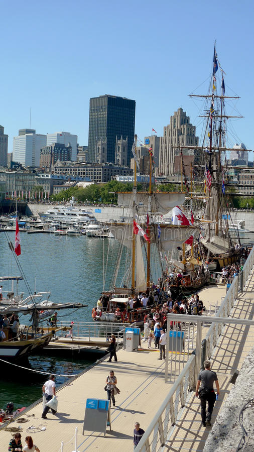 Download Montreal editorial photography. Image of sailing, tall - 26608312