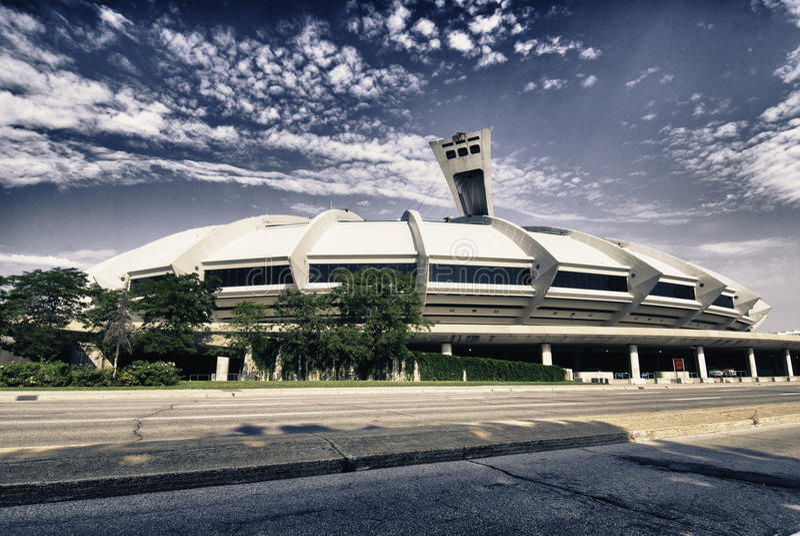 Montreal architektoniczny Szczegół, Kanada zdjęcie stock