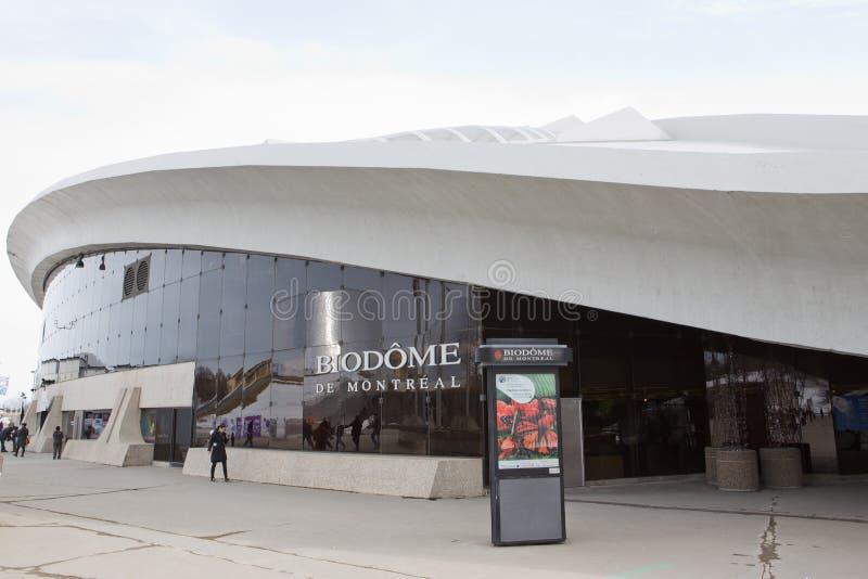 Montreal Biodome lizenzfreies stockbild