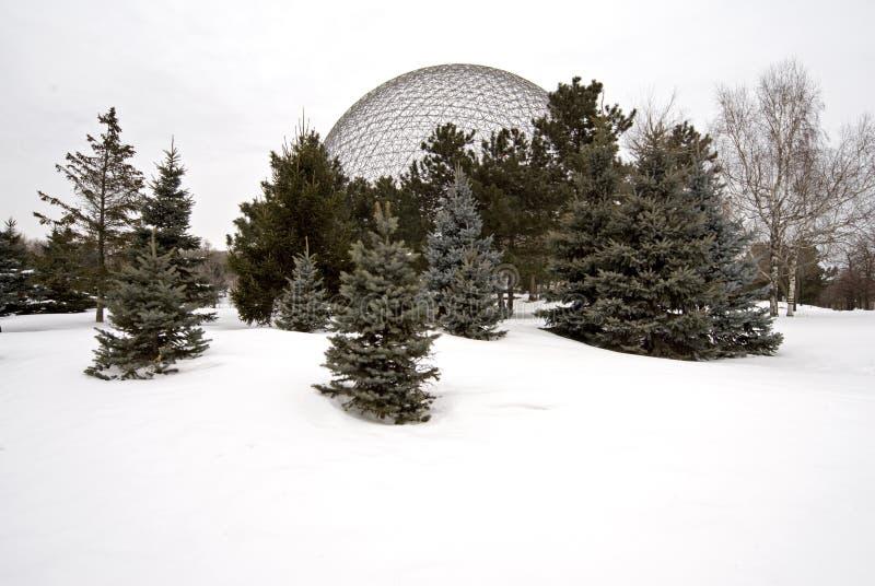 Montreal biosfery obraz royalty free