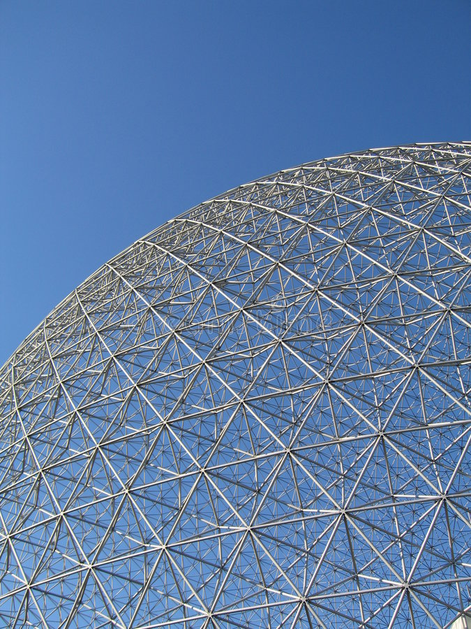 Montreal Biosphere_2 imagens de stock