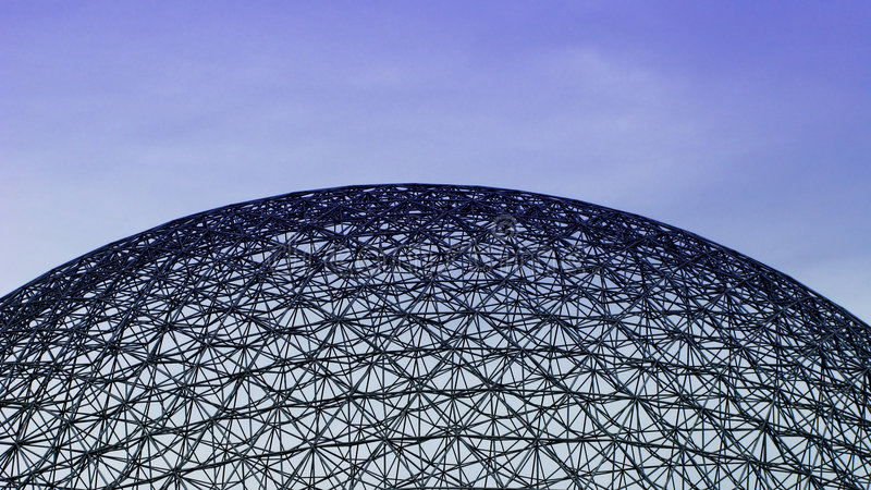 Montreal Biosphere Museum. Montreal Biosphere, an Environment Museum stock photography
