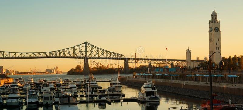 Montreal Bridge Stock Photos