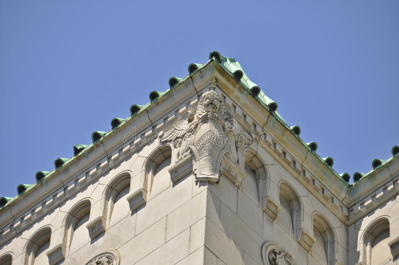 Download Montreal Building With Lion Stone Carving Stock Image - Image: 28239753