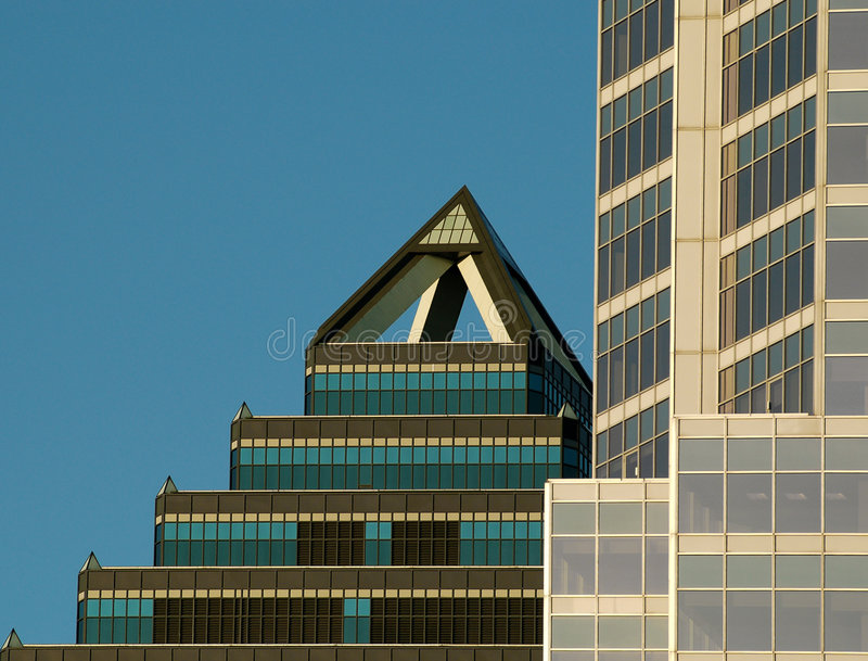 Montreal building texture 4. royalty free stock images