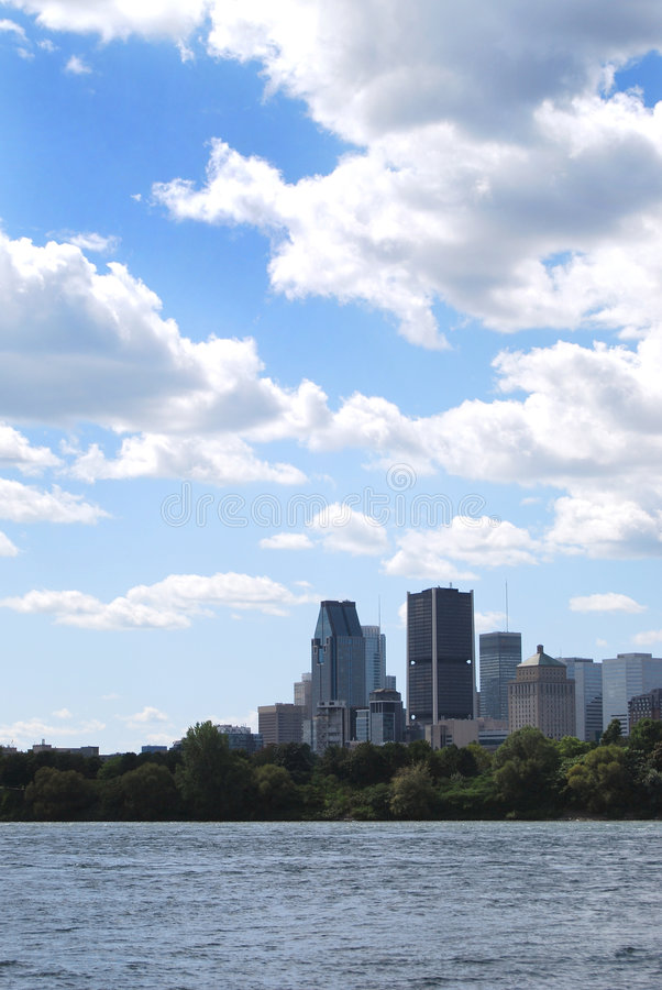 Download Montreal buildings stock photo. Image of clouds, buildings - 6249568