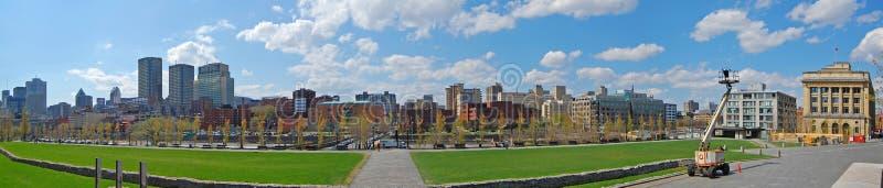 Montreal city skyline panorama, Quebec, Canada stock photos