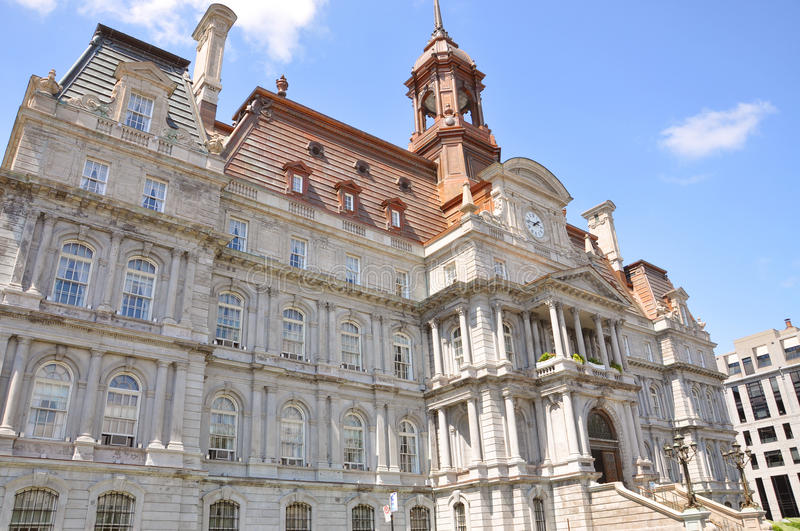 Montreal City Hall royalty free stock photography