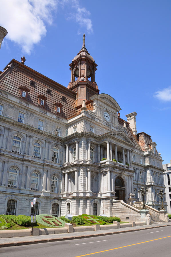 Montreal City Hall stock photos