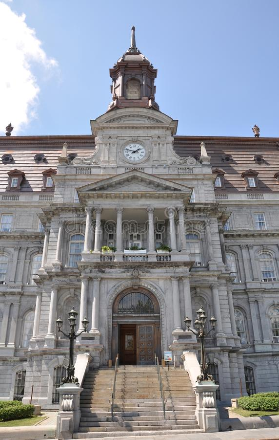 Download Montreal City Hall stock image. Image of america, architecture - 20620127