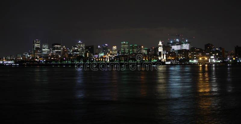 Montreal de stad in royalty-vrije stock foto