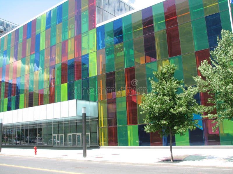 Montreal di costruzione moderna fotografie stock