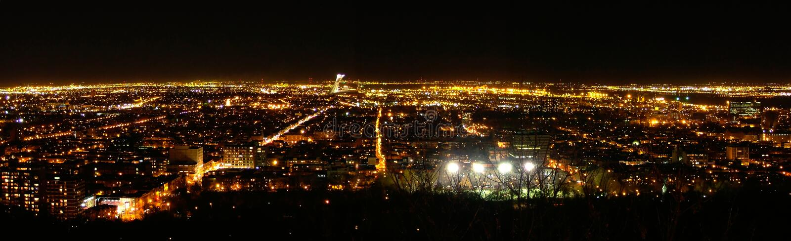 Download Montreal East-End stock photo. Image of panorama, urban - 1651550