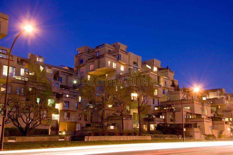 Download Montreal Habitat 67 stock image. Image of quebec, building - 1633417