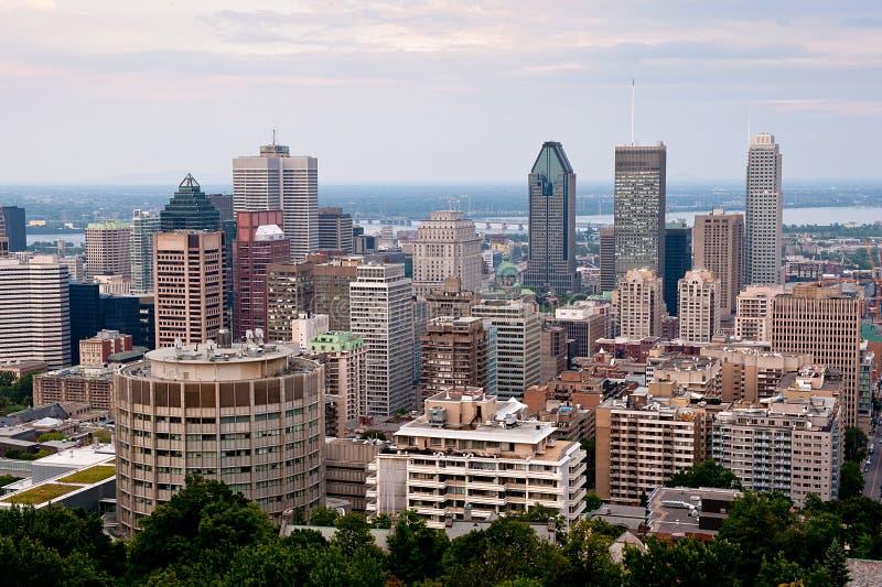 Montreal-Highrise stockfotos