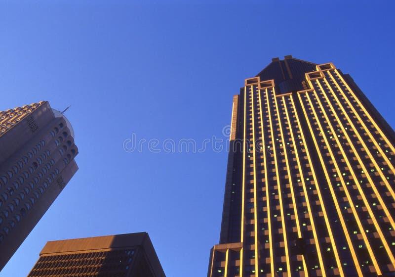 Montreal Im Stadtzentrum Gelegen Stockfoto