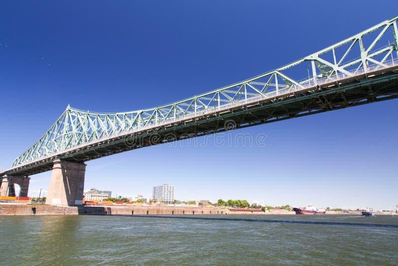 Montreal, Jacques Cartier Bridge fotografía de archivo