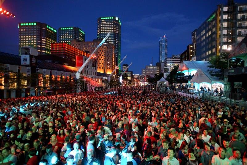 Montreal Jazz Festival stock foto's