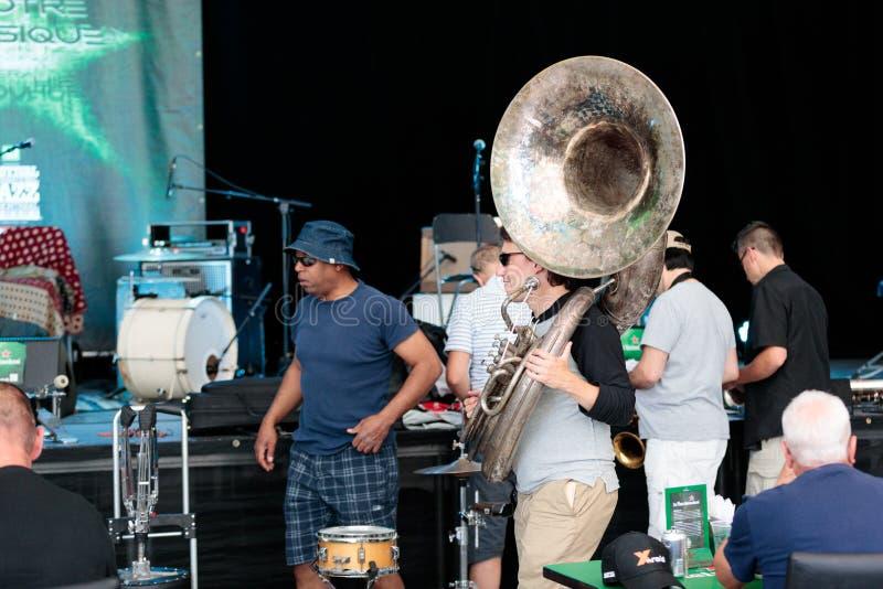 Montreal Jazz Festival July 2017 foto de archivo