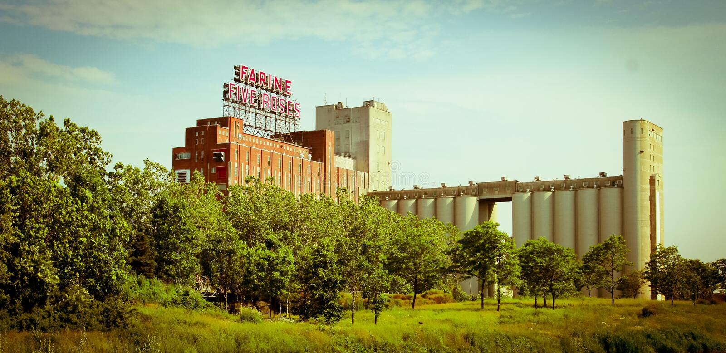 Montreal landmark stock images