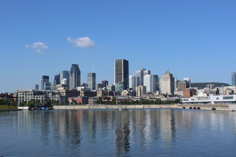 Montreal linia horyzontu zdjęcia stock