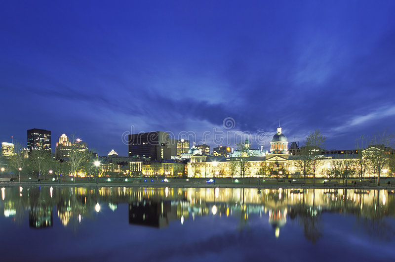 Montreal Marche Bonsecours Market royalty free stock image
